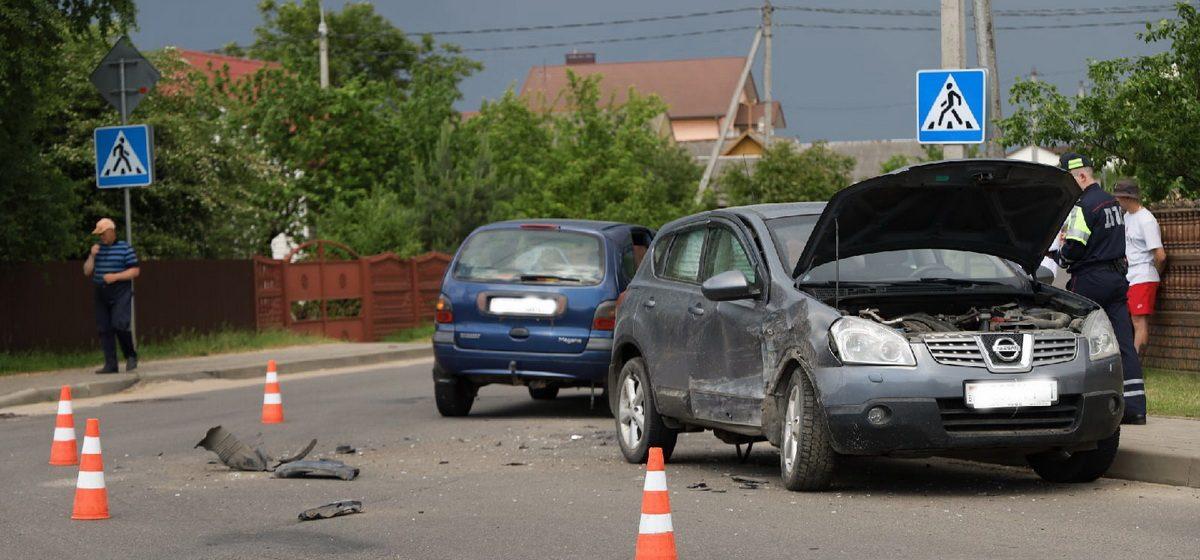 Renault и Nissan столкнулись в Барановичах