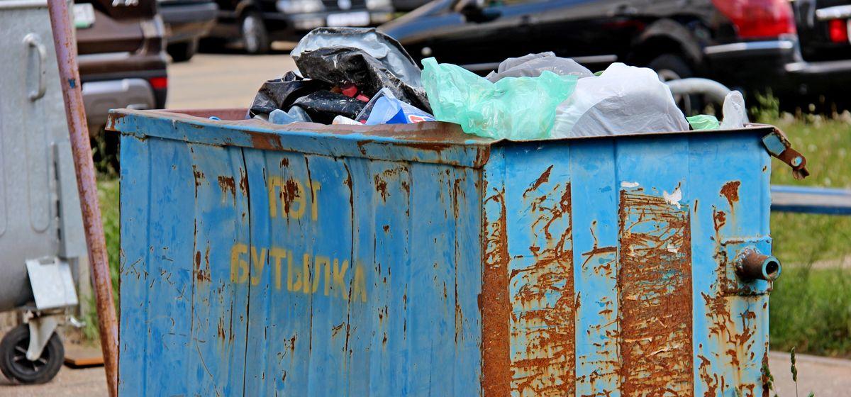 Что выбрасывают в контейнеры для раздельного сбора отходов жители Барановичей