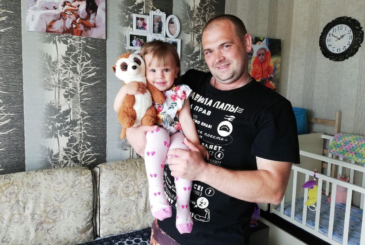 Сергей Леутко с дочерью Каролиной. Фото: семейный архив
