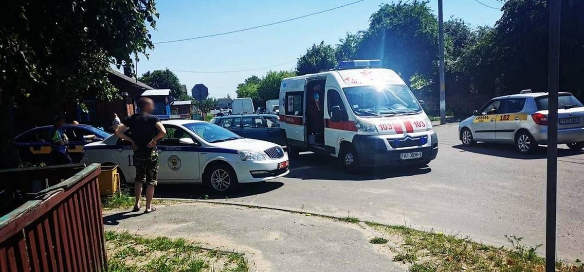 Водитель скрылся с места ДТП в Барановичах