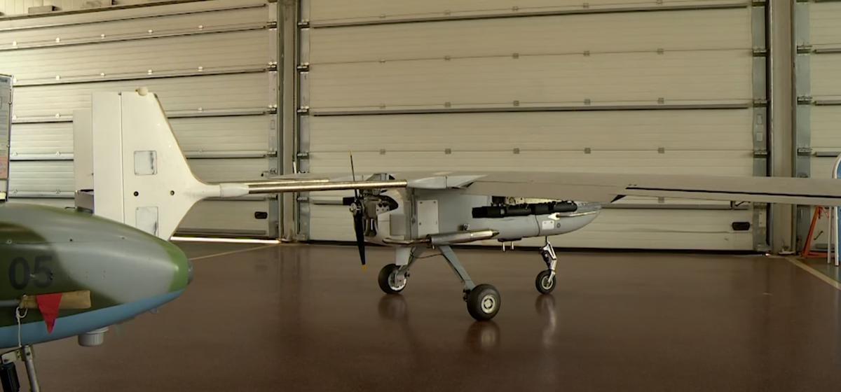Ударные беспилотники, разработанные на барановичском авиазаводе, показали на выставке в Минске