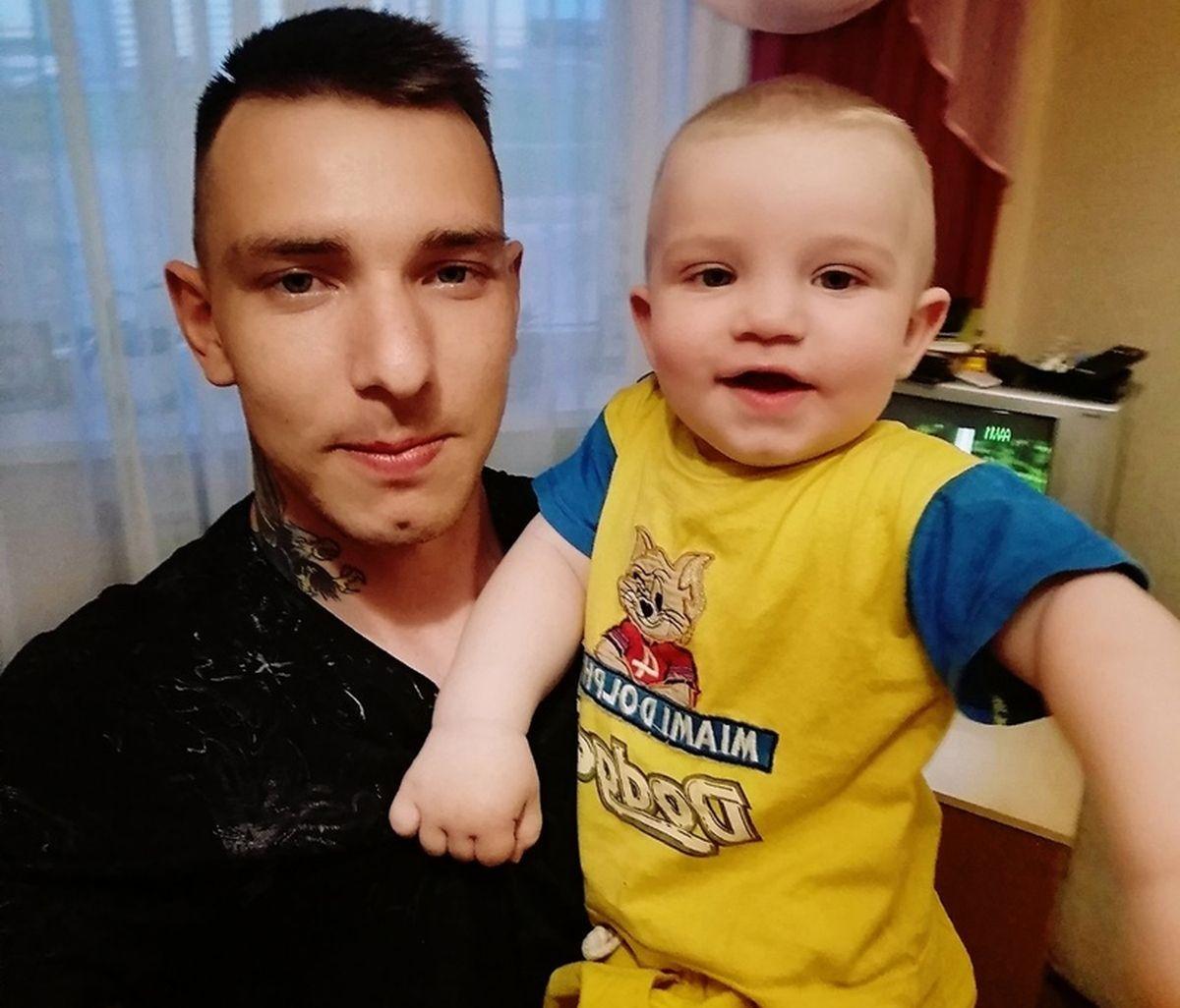 Сергей Жигунов с сыном Матвеем. Фото: семейный архив