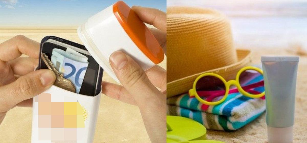 Как защитить вещи от пляжных воришек: ТОП-5 простых и эффективных тайников