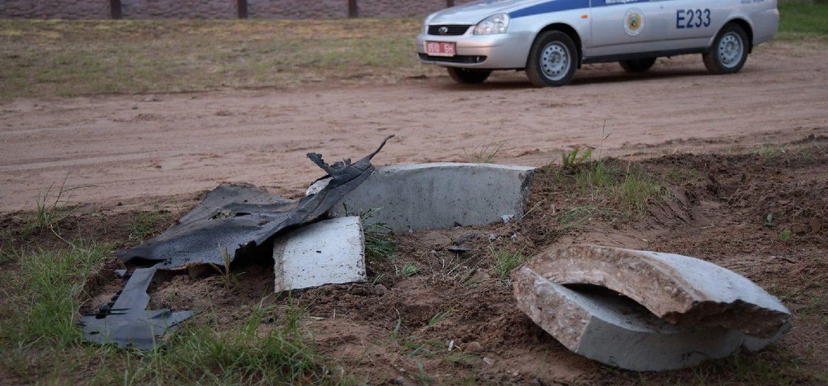Водитель оказал сопротивление сотрудникам милиции после ДТП в Барановичах