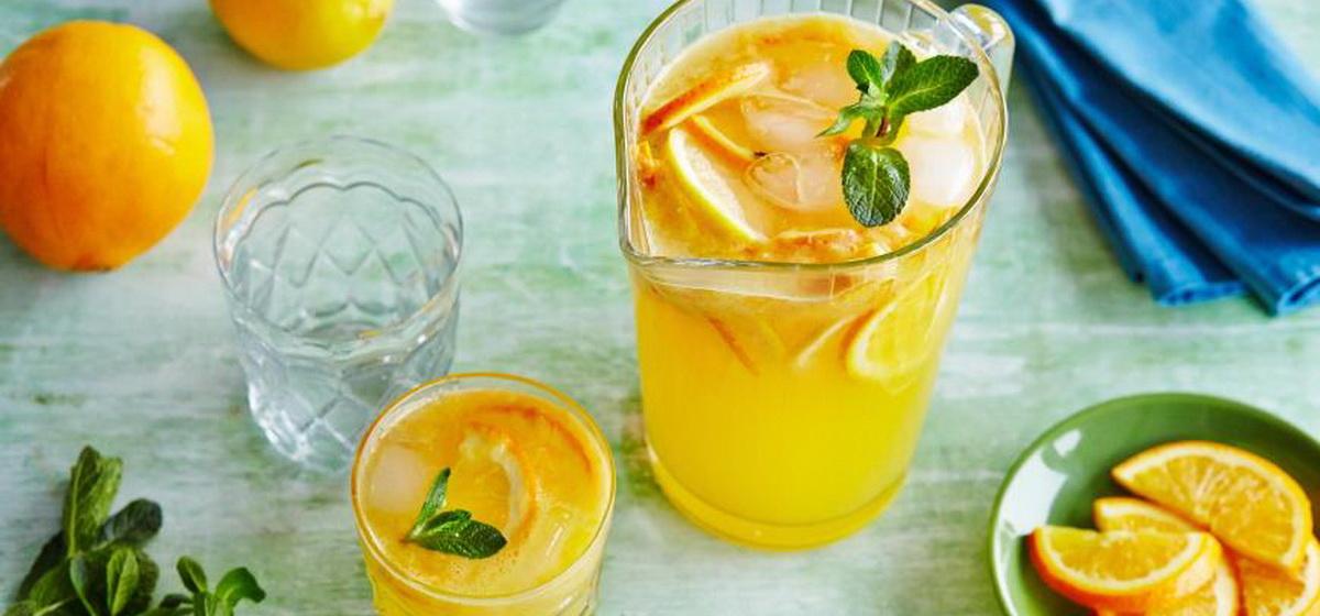 Вкусно и просто. Лимонад из апельсинов летом в жару