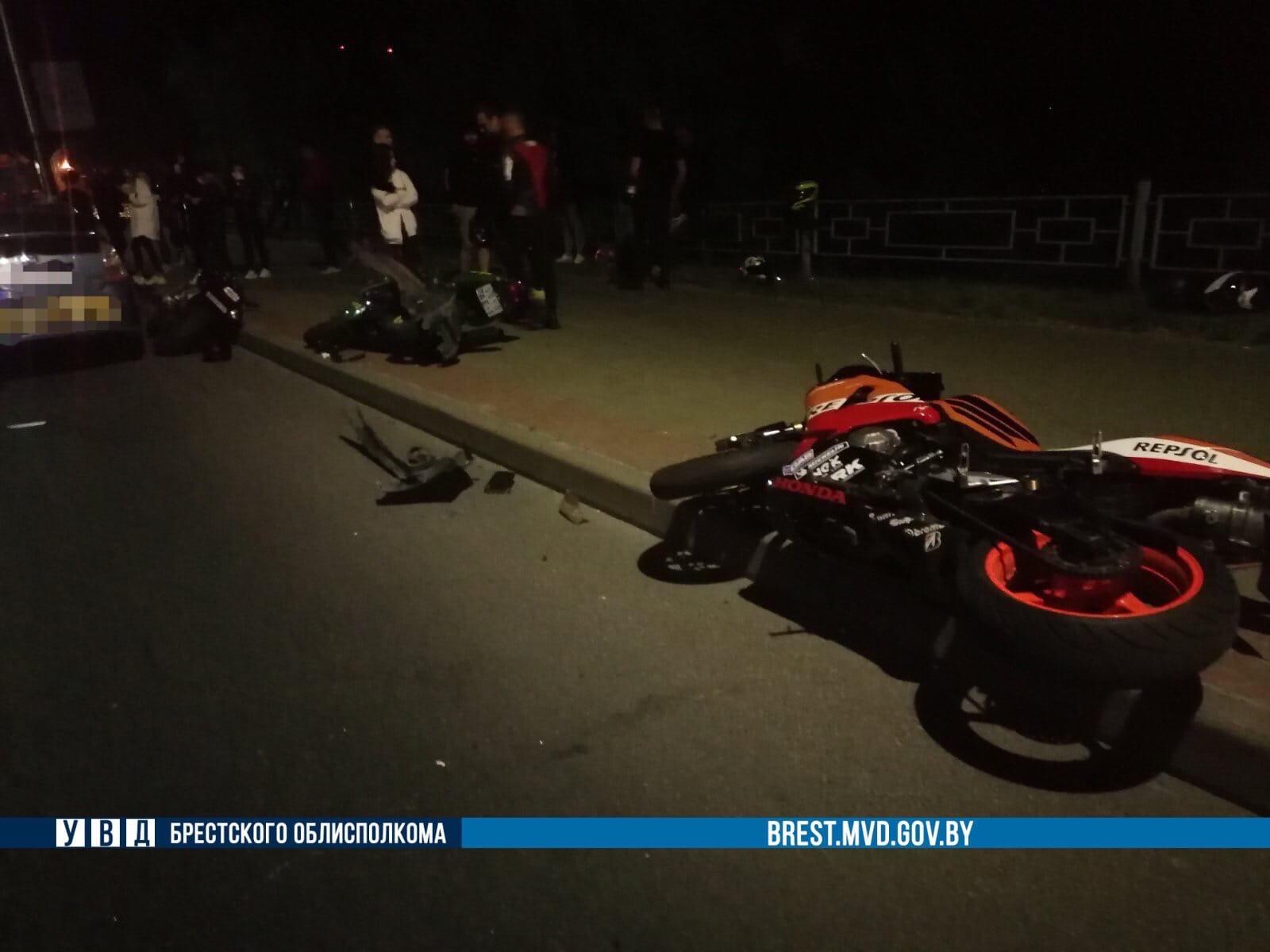 ДТП байкеры Брест