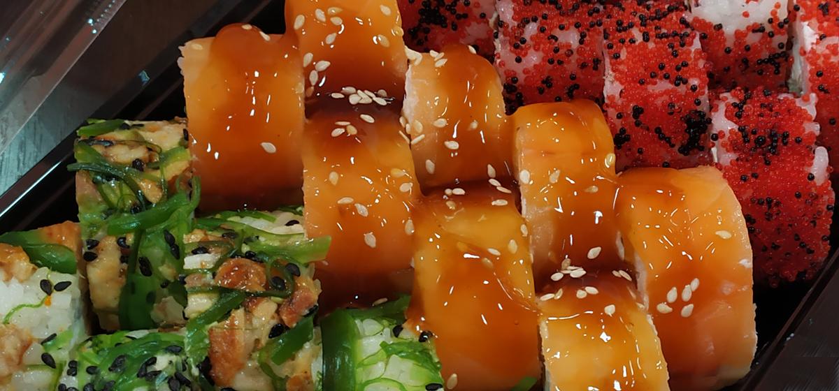 Суши от Black Fox. Тестируем новинки*