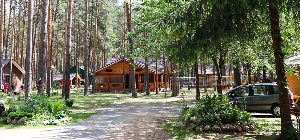 Двухэтажный дом с турецкой баней хамам открылся на базе отдыха «Чараўніца» на Гати*