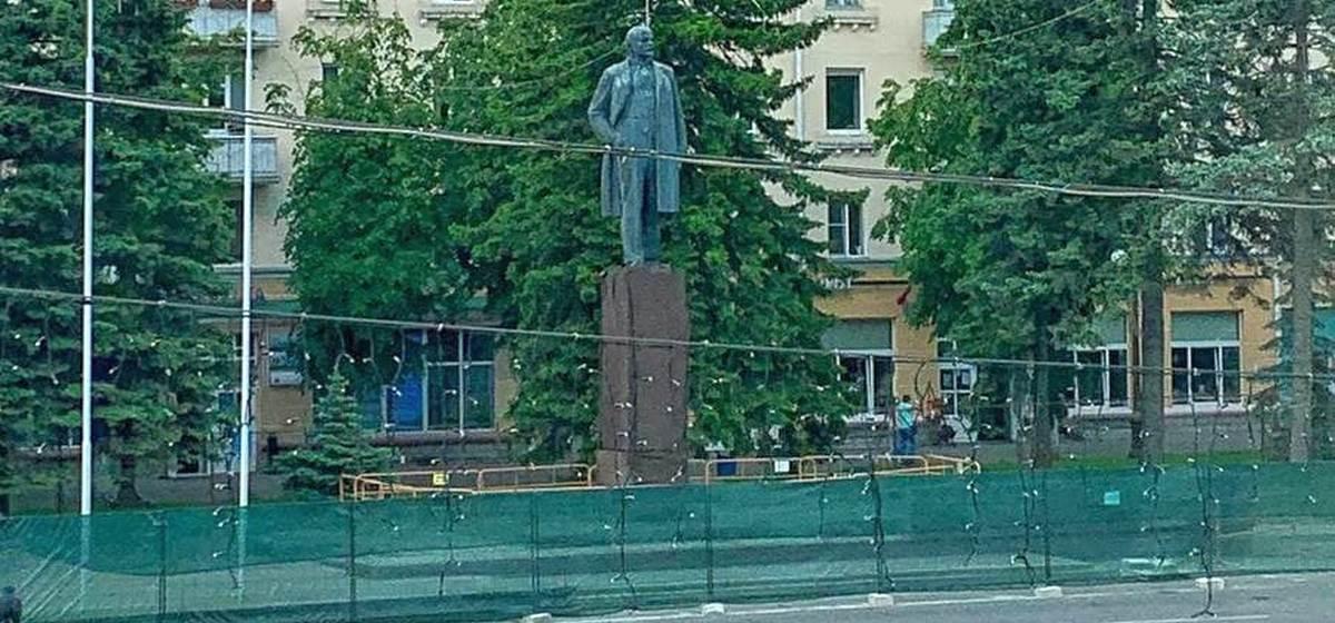 Что происходит с памятником Ленину в Барановичах