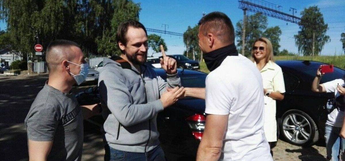 Из барановичского СИЗО освободился журналист tribuna.by. Фотофакт