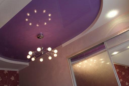 Сатиновые потолки для ценителей уютной атмосферы.