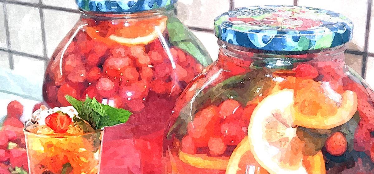 Как правильно приготовить клубничный мохито с лимоном и мятой на зиму. Видео