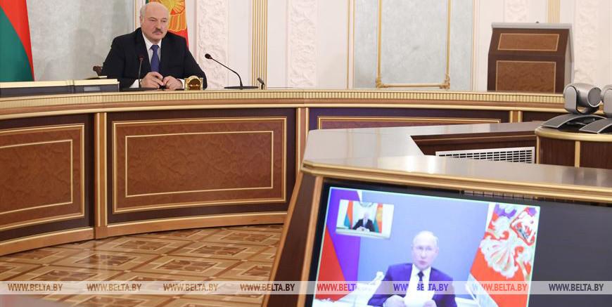 Попыткой «наложить лапу» на ресурсы Беларуси и России назвал санкции Лукашенко