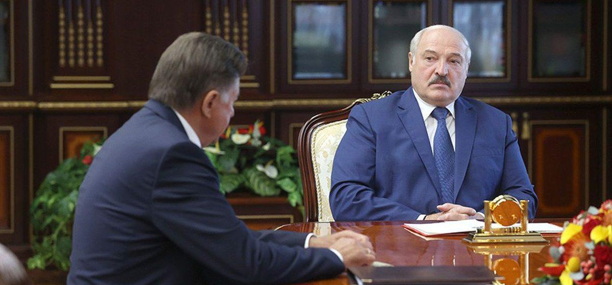Лукашенко назначил управляющего делами президента Беларуси