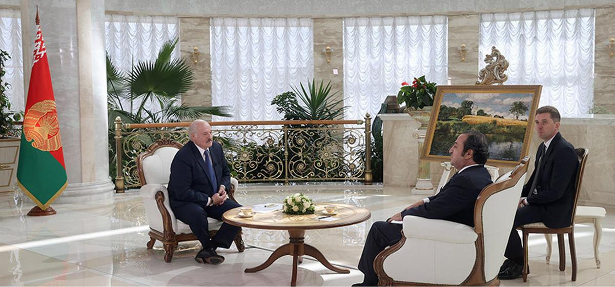 «Они пошли на удушение моего народа». Лукашенко предложил Литве помощь в борьбе с нелегальной миграцией, но не безвозмездно