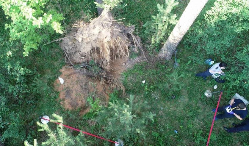 Бизнесмен вывез в лес под Смолевичами и застрелил своего обидчика. Потом приказал знакомым закопать тело