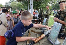 Как барановичский батальон связи отметил свой 30-летний юбилей