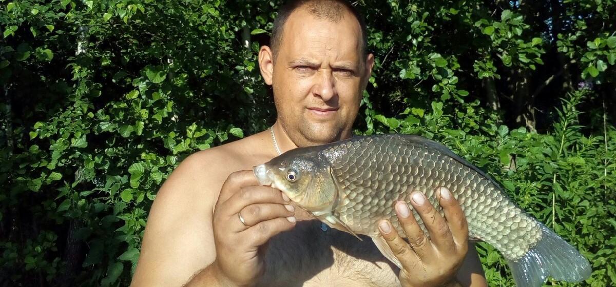 Рыба моя. Что выловили барановичские рыбаки за выходные 10 и 11 июля