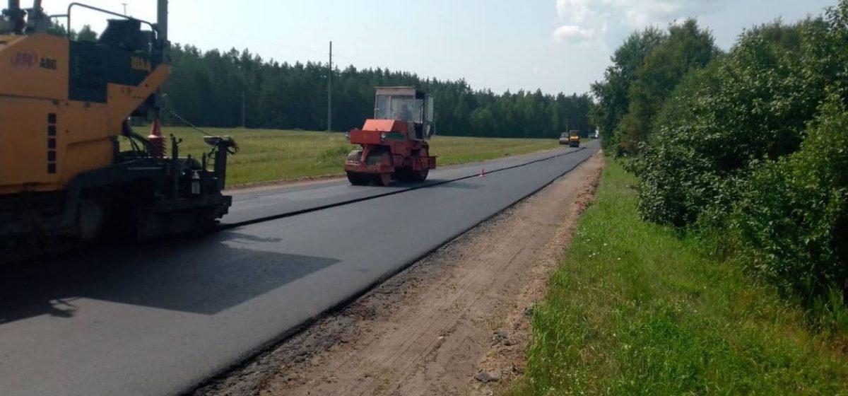 Вот что сделали дорожники на трассе  Барановичи — Утес. Фотофакт