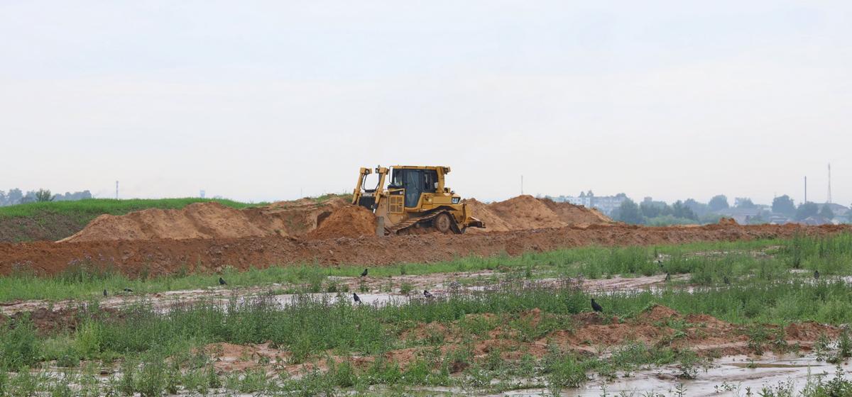 Что происходит на стройплощадке нового микрорайона Северный-2 в Барановичах