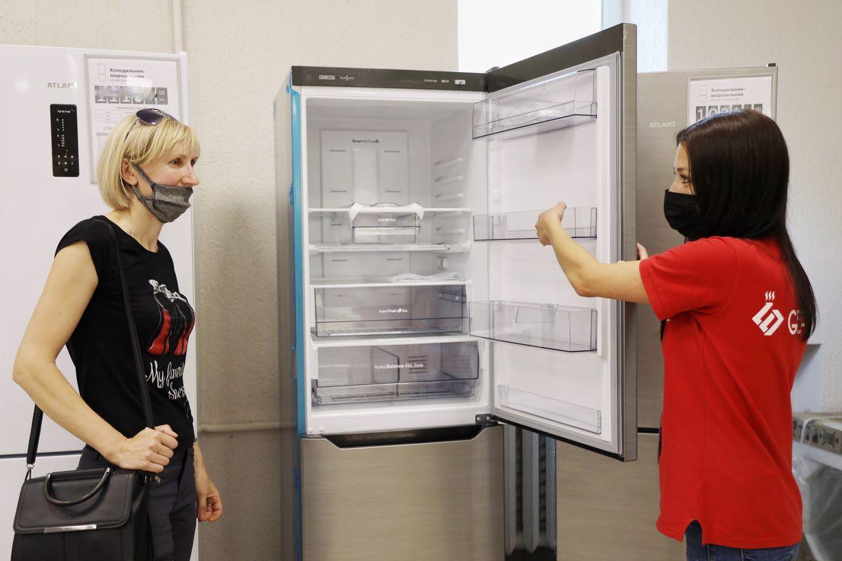В TECHNO представлен широчайший ассортимент холодильников и морозильных камер. Фото: Никита ПЕТРОВСКИЙ