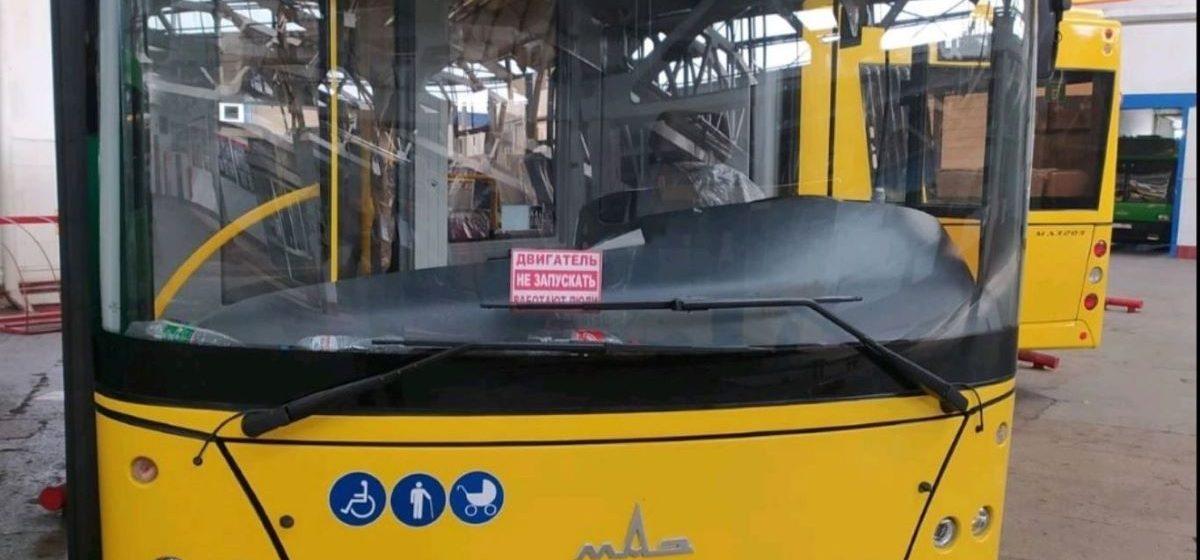 Четыре новых автобуса появились в Барановичском автопарке. Фотофакт