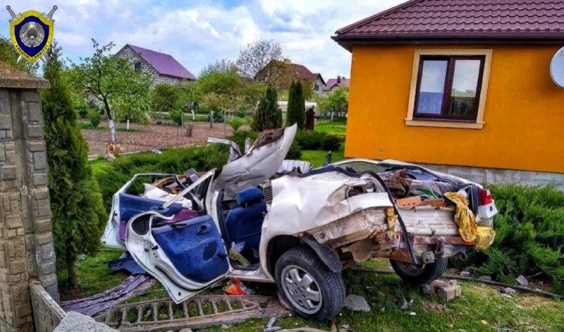 На видео попало смертельное ДТП на скорости 150 км/ч в Гродно