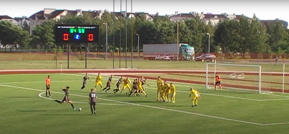 Барановичские футболисты удивили. Подробности матча с ФК «Слоним-2017»