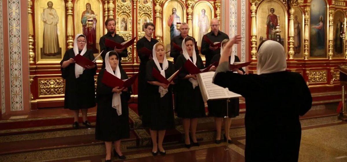 После исполнения гимна «Магутны Божа» в минскую церковь пришли милиционеры