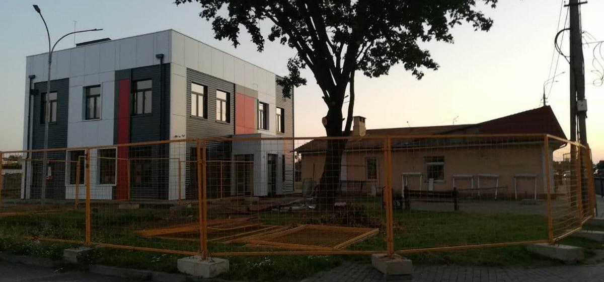 Что будет на месте старого здания компании «ТАСК» в Барановичах?