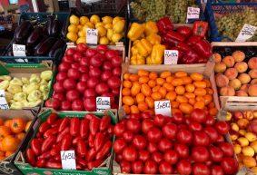 Что почем. На барановичском рынке подешевели персики, подорожали апельсины
