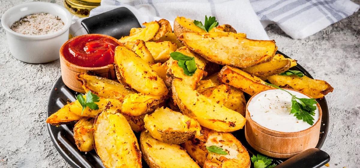 Вкусно и просто. Запеченный картофель в горчице