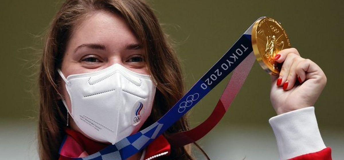 Россия завоевала первое золото на Олимпиаде в Токио