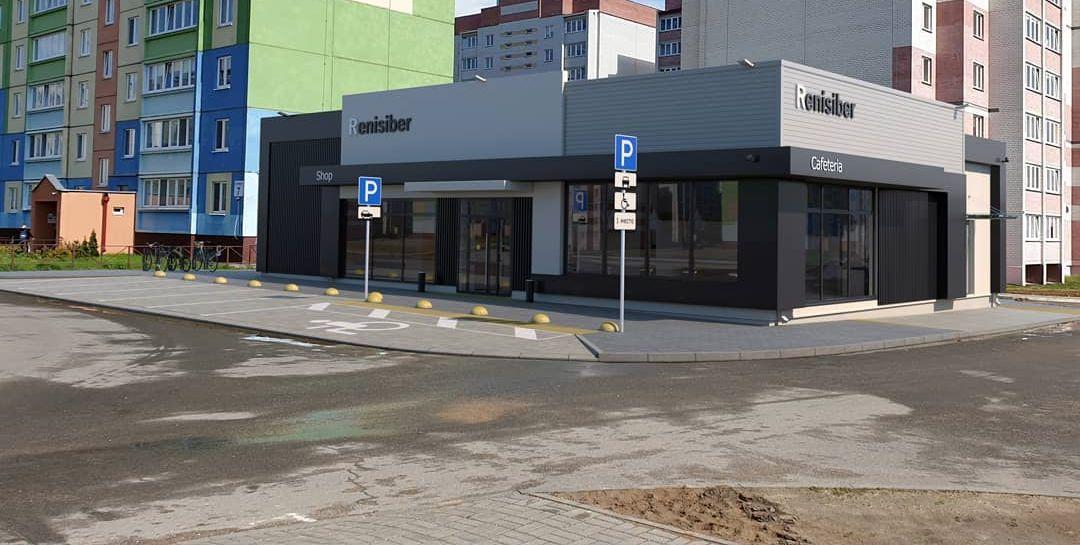 Новый магазин строят в Барановичах