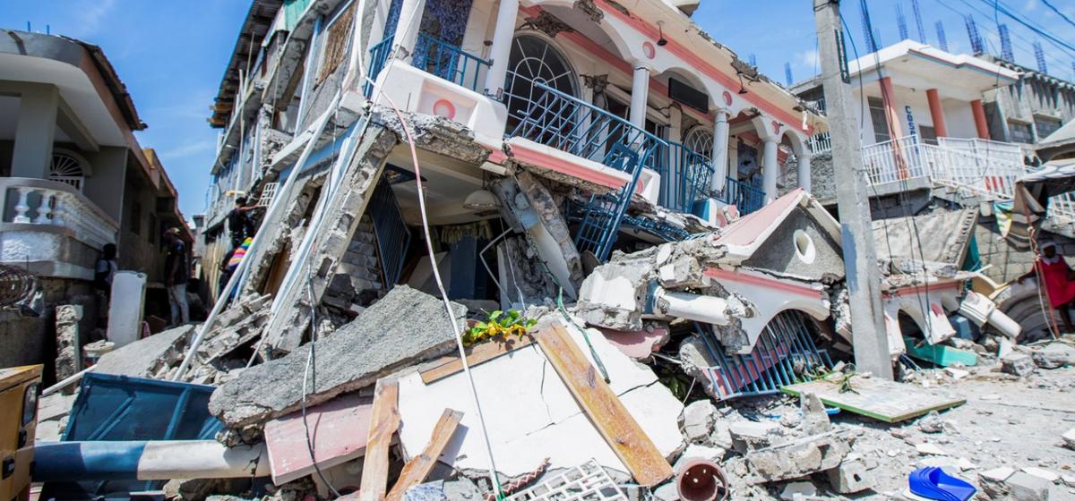 Мощное землетрясение на Гаити. Сотни погибших. Видео