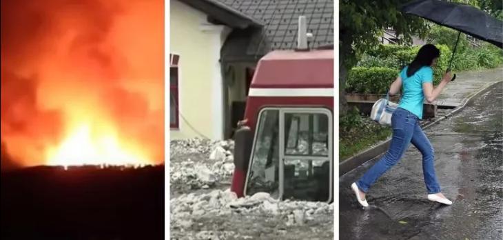 Битва продолжается — в Европе экстремальная погода. Метеорологи рассказали, столкнутся ли белорусы со стихией в предстоящие выходные