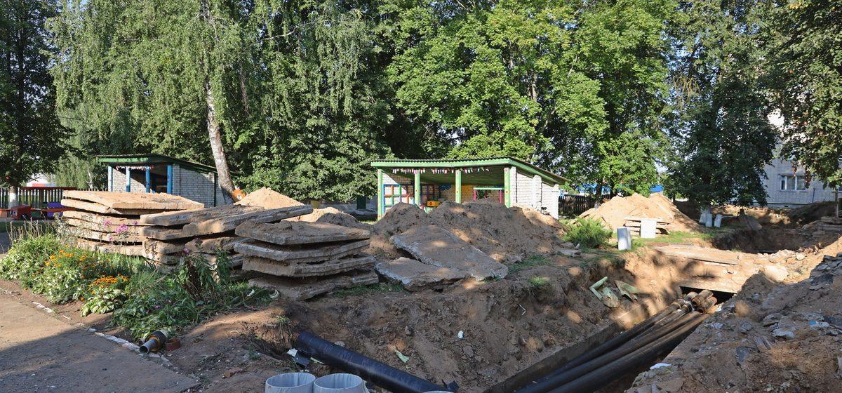 Когда откроют детский сад в деревне Русино?