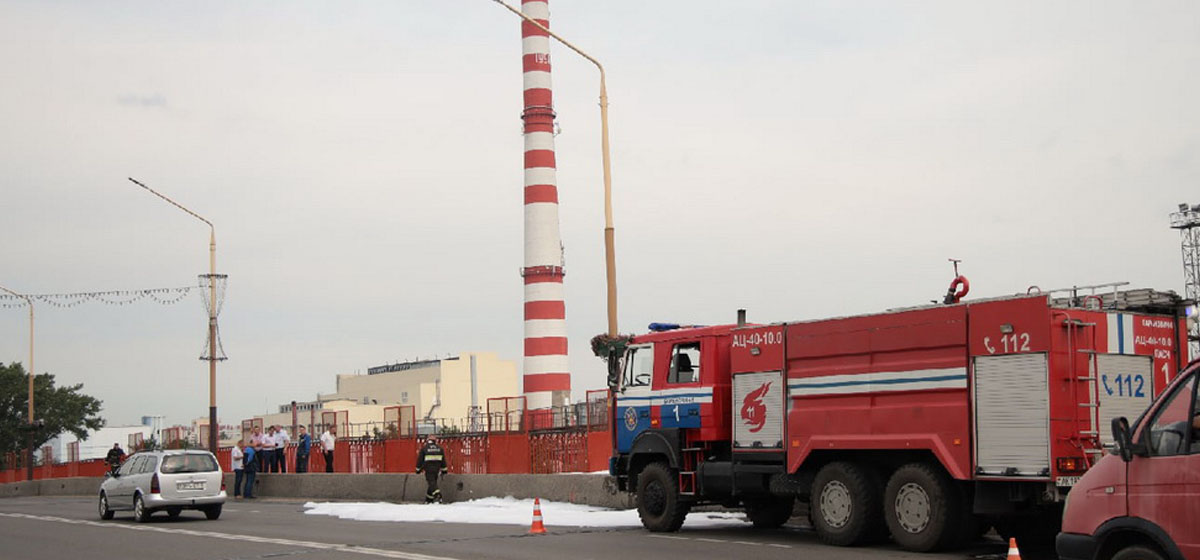 Что случилось на путепроводе в Барановичах, где были замечены машины МЧС, «скорой» и газовой службы?