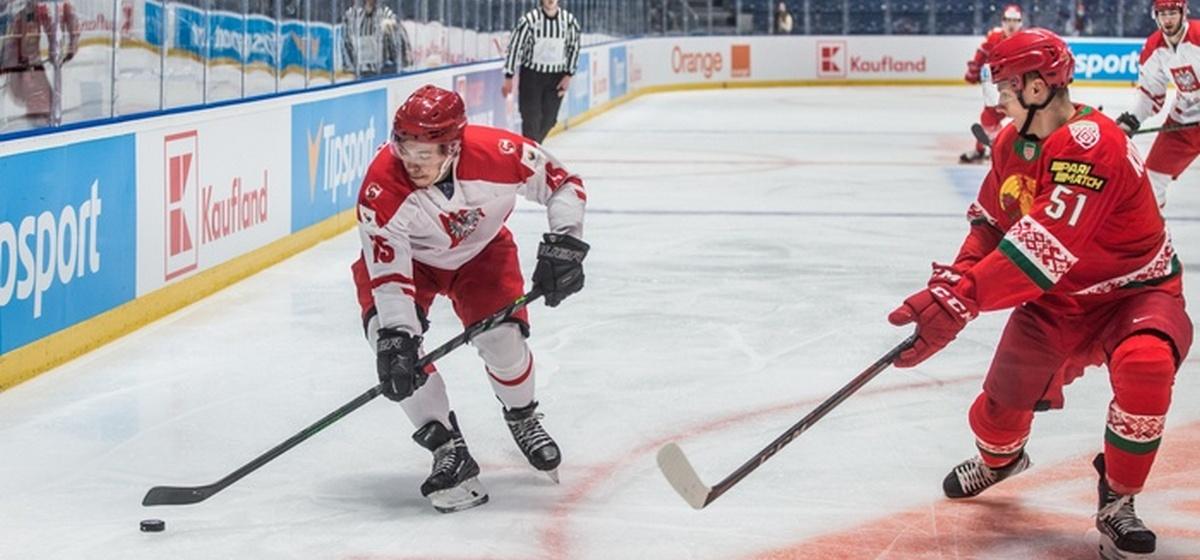 Сборная Польши по хоккею сенсационно одолела команду Беларуси в стартовом матче олимпийской квалификации