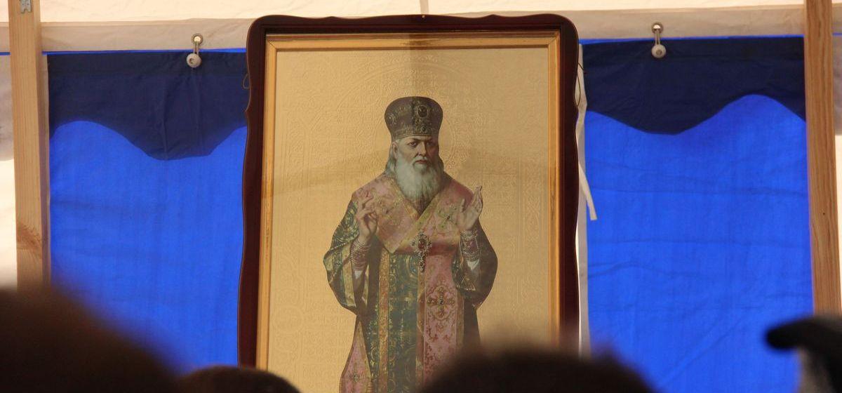 Мощи святителя Луки прибыли в Барановичи. Фоторепортаж