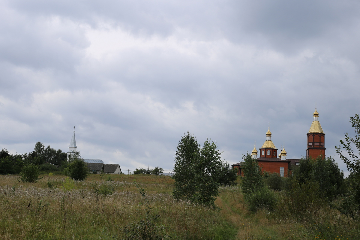 Полонка церковь костел