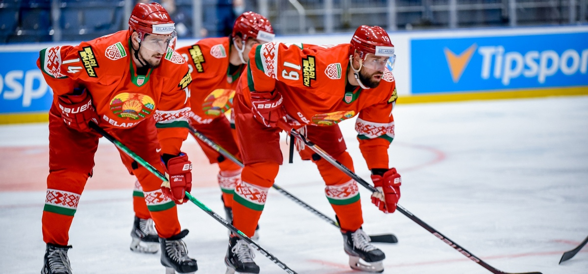 Сборная Беларуси по хоккею уверенно обыграла команду Австрии