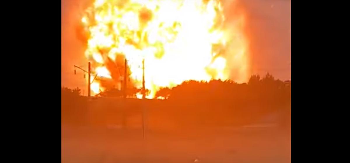 Склад с боеприпасами взорвался в Казахстане. Есть пострадавшие Видео