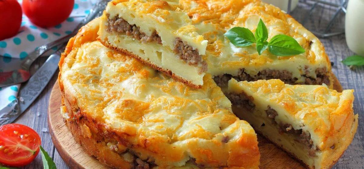 Вкусно и просто. Заливной мясной пирог