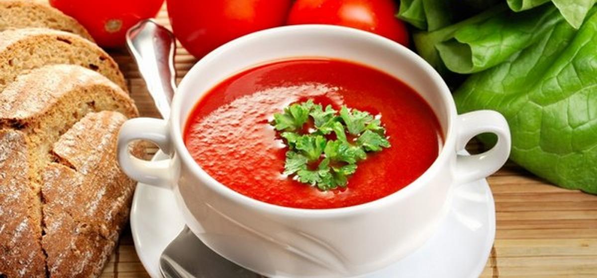 Вкусно и просто. Холодный томатный суп «Гаспачо»
