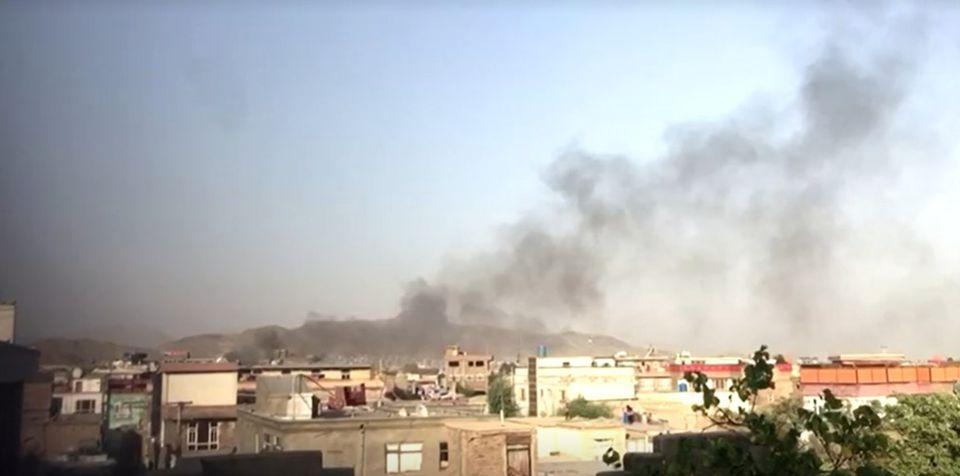 В Кабуле произошел новый мощный взрыв, есть погибшие. Видеофакт