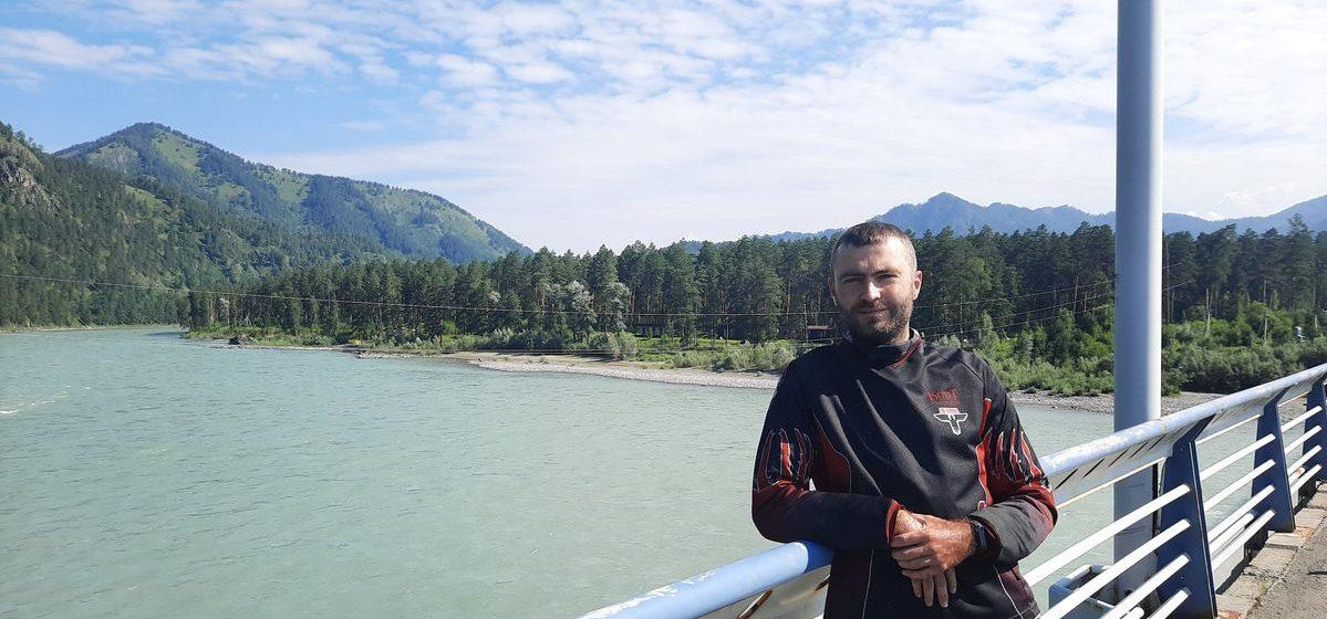 На мотоцикле съездил до Алтая. Житель Барановичей – о путешествии, российских дорогах и советах новичкам