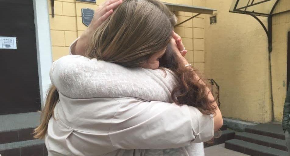 Журналистов, отсидевших восемь месяцев за решеткой, освободили