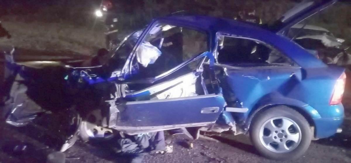 Четыре человека погибли в лобовом столкновении под Ивацевичами