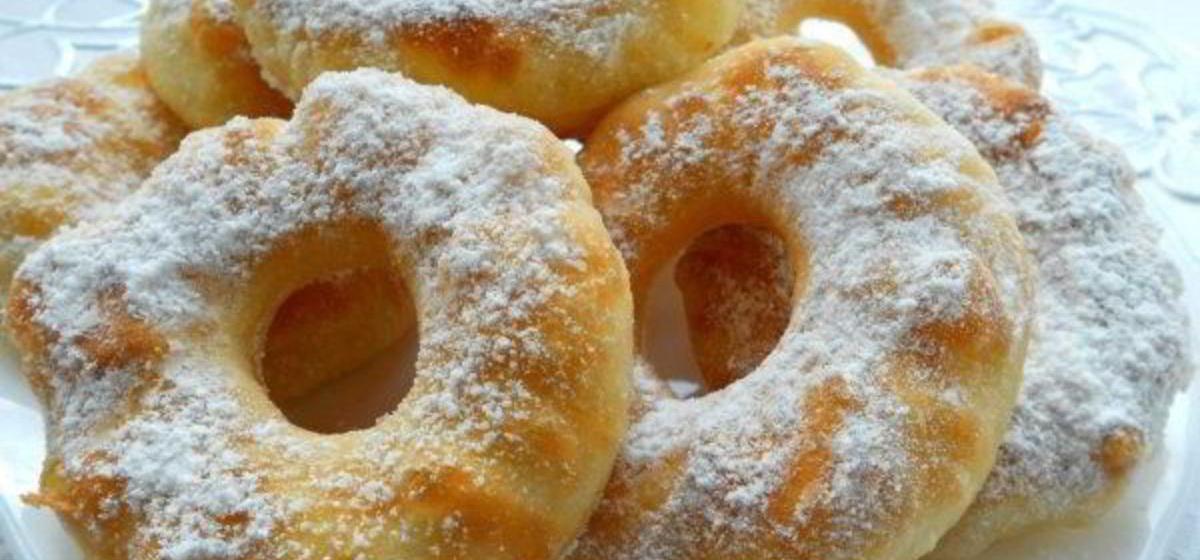 Вкусно и просто. Пончики на кефире за 15 минут